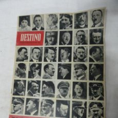 Coleccionismo de Revista Destino: REVISTA DESTINO - HITLER -. . Lote 30304136