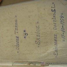 Coleccionismo de Revista Destino: C. W. CERAN. DIOSES TUMBAS Y SABIOS Y LOS HITITAS, DE EDICIONES DESTINO S.L.. Lote 38296225