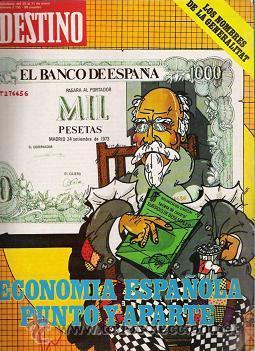 REVISTA DESTINO N.2155 (Coleccionismo - Revistas y Periódicos Modernos (a partir de 1.940) - Revista Destino)
