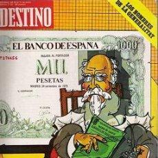 Coleccionismo de Revista Destino: REVISTA DESTINO N.2155. Lote 30813480