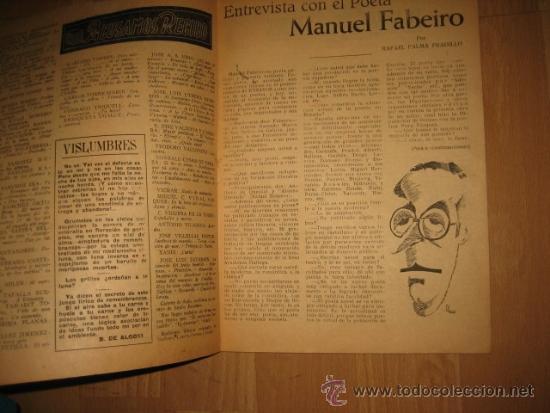 Coleccionismo de Revista Destino: OCTUBRE REVISTA LITERARIA.EL PORQUE DE LA ACTUAL CRISIS LITERARIA EN ESPAÑA.LOS TOROS Y LOS HERMANOS - Foto 3 - 31205624