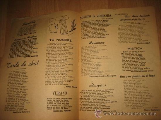 Coleccionismo de Revista Destino: OCTUBRE REVISTA LITERARIA.EL PORQUE DE LA ACTUAL CRISIS LITERARIA EN ESPAÑA.LOS TOROS Y LOS HERMANOS - Foto 5 - 31205624