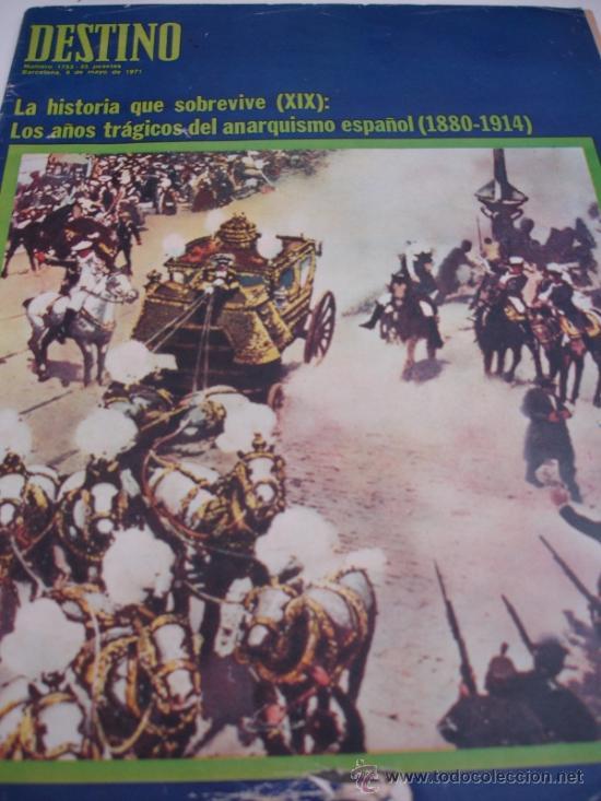 REVISTA DESTINO (Coleccionismo - Revistas y Periódicos Modernos (a partir de 1.940) - Revista Destino)