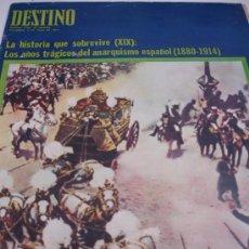 Coleccionismo de Revista Destino: REVISTA DESTINO. Lote 31280301