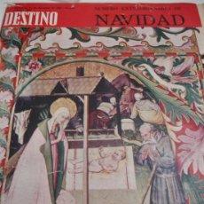Coleccionismo de Revista Destino: REVISTA DESTINO EXTRA DE NAVIDAD. Lote 31284676