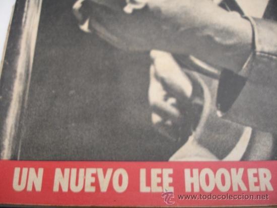 Coleccionismo de Revista Destino: REVISTA DESTINO LEE HOOKER - Foto 2 - 31284720
