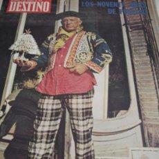 Coleccionismo de Revista Destino: REVISTA DESTINO PICASSO. Lote 44991876