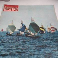 Coleccionismo de Revista Destino: REVISTA DESTINO NAUTICA . Lote 31300120