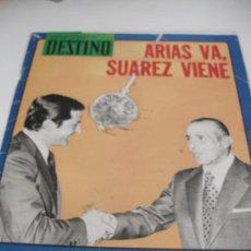 Coleccionismo de Revista Destino: REVISTA DESTINO ARIAS Y SUAREZ. Lote 31302289