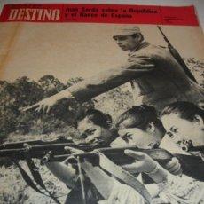 Coleccionismo de Revista Destino: REVISTA DESTINO LA REPUBLICA. Lote 31302383