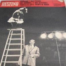 Coleccionismo de Revista Destino: REVISTA DESTINO CIRCO. Lote 31302490