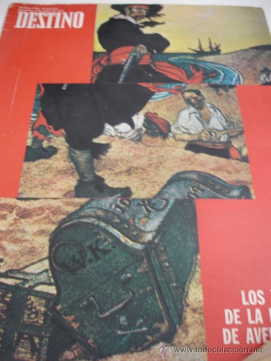 REVISTA DESTINO PIRATAS (Coleccionismo - Revistas y Periódicos Modernos (a partir de 1.940) - Revista Destino)