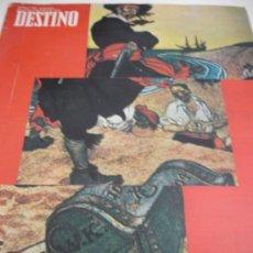 Coleccionismo de Revista Destino: REVISTA DESTINO PIRATAS. Lote 31302811