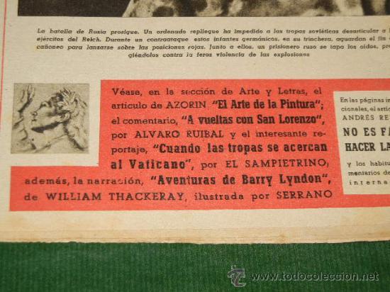 Coleccionismo de Revista Destino: DESTINO N.322 - 18 SEPTIEMBRE 1943 - Foto 2 - 32713466