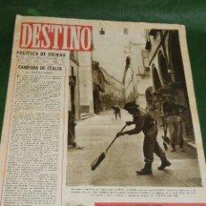 Coleccionismo de Revista Destino: DESTINO N.331 - 20 NOVIEMBRE 1943. Lote 32714401