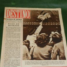 Coleccionismo de Revista Destino: DESTINO N.328 - 30 OCTUBRE 1943. Lote 32714573