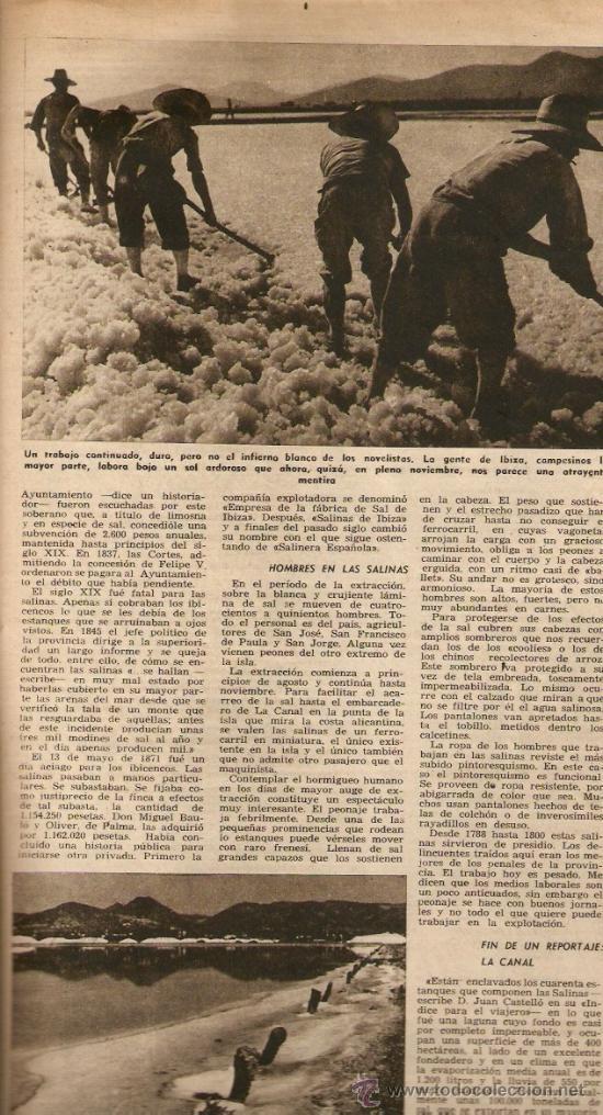 Coleccionismo de Revista Destino: AÑO 1952 VIENA ROJA PLA SALINAS DE IBIZA SEGARRA MONTSERRAT JUNOY LACRIMA BACCUS NADAL - Foto 2 - 10873900