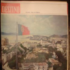 Coleccionismo de Revista Destino: REVISTA DESTINO Nº 1900. AÑO 1974- MACAO AL BORDE DEL PRECIPICIO. Lote 109605667