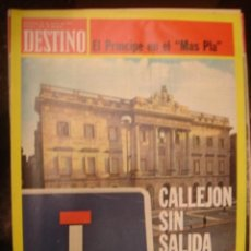 Coleccionismo de Revista Destino: REVISTA DESTINO Nº 1956. AÑO 1975-CALLEJON SIS SALIDA. Lote 34576815