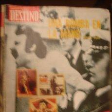 Coleccionismo de Revista Destino: REVISTA DESTINO Nº 1974. AÑO 1975 UNA BOMB N LA MANO. Lote 34577029