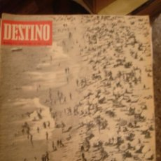 Coleccionismo de Revista Destino: REVISTA DESTINO Nº 1565. AÑO 1967. AGOSTO EN LAS PLAYAS. Lote 95825787