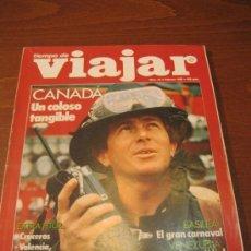 Coleccionismo de Revista Destino: REVISTA TIEMPO DE VIAJAR - NÚMERO 43 - FEBRERO 1989 - CANADÁ, UN COLOSO TANGIBLE - ESTUPENDO ESTADO. Lote 35064840
