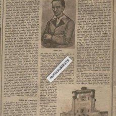 Coleccionismo de Revista Destino: REVISTA AÑO 1944 EL DEFENSOR DE PEDRO LEYENDA DE BENITO SOTO PUERTA DE TIERRA CADIZ TRANVIA. Lote 35399701