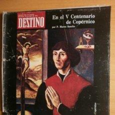 Collectionnisme de Magazine Destino: DESTINO Nº1856.1973.NICOLAS COPERNICO,ROSSEND LLATES,C.MARTIN GAITE,B.CHARLTON,G.BYASS.. Lote 36900477