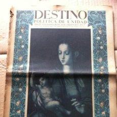 Coleccionismo de Revista Destino: DESTINO REVISTA. Lote 36972699