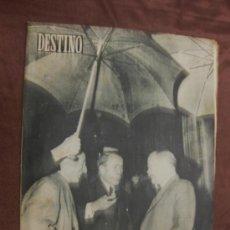Coleccionismo de Revista Destino: DESTINO. Nº 932.BARCELONA,18 JUNIO 1955. CORIA,LUCHAS KREMLIN Y YUGOSLAVIA,.... Lote 37725879