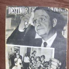 Coleccionismo de Revista Destino: DESTINO. Nº 1052.BARCELONA,5 OCTUBRE 1957.ESTAMBUL,MALLORCA: FELANITX,EVOCACIÓN WEST,.... Lote 37726149