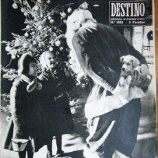 Coleccionismo de Revista Destino: PAPA NOEL - 1957 REVISTA DESTINO. Lote 37869296