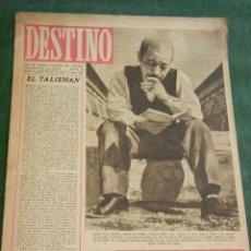 Coleccionismo de Revista Destino: DESTINO N.449 - 23 FEBRERO 1946. Lote 38164028