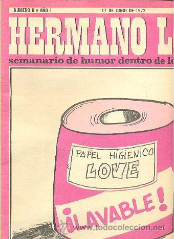 HERMANO LOBO -SEMANARIO DE HUMOR DENTRO DE LO QUE CABE Nº 6 SUMMERS EL PERICH FORGES CHUMY CHUMEZ (Coleccionismo - Revistas y Periódicos Modernos (a partir de 1.940) - Revista Destino)