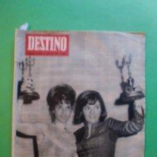 Coleccionismo de Revista Destino: DESTINO 2 OCTUBRE 1965 Nº 1469 TERCER ANIVERSARIO DEL CORTE INGLES - MALLORCA POR JOSE PLA - DUWARD. Lote 41460224
