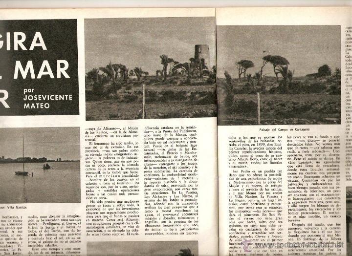 Coleccionismo de Revista Destino: 1965 OPERA MISTERI ELCHE MAR MENOR FELIPE II AEROPUERTO GIRONA TRIAS DE BES REINA ELISABETH BELGICA - Foto 4 - 11879192