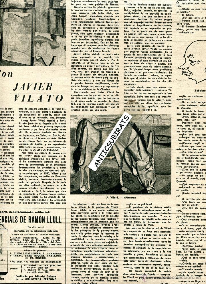 Coleccionismo de Revista Destino: REVISTA 1957 INUNDACIONES EN VALENCIA BARRIO DE NAZARET HILLARY EN LA EXPEDICION ANTARTICA VILATO - Foto 4 - 17879291
