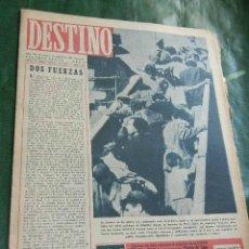 Coleccionismo de Revista Destino: DESTINO N.478 - 14 SEPTIEMBRE 1946. Lote 42311555