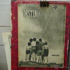 Coleccionismo de Revista Destino: REVISTA DESTINO N.735 SEPTIEMBRE DE 1951. Lote 42764100