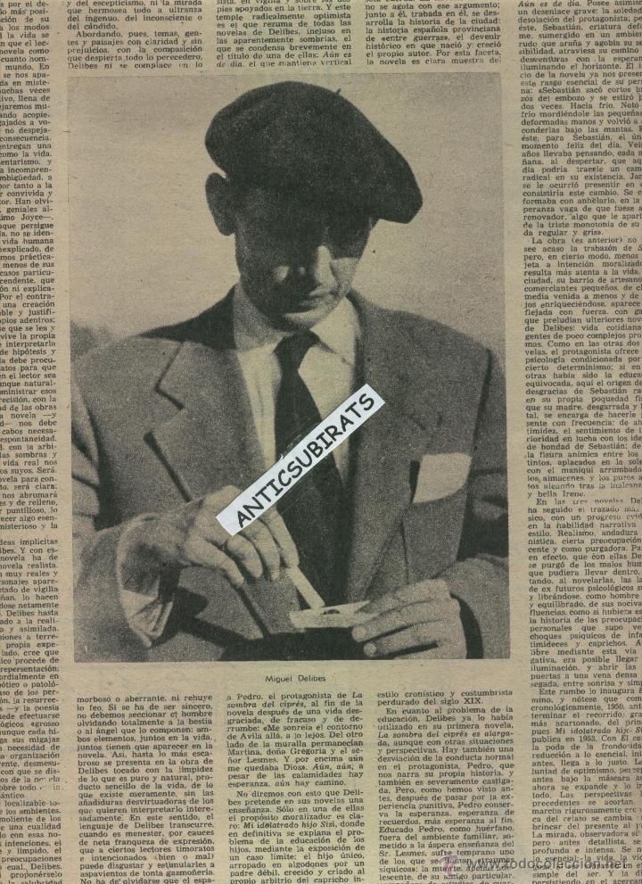 Coleccionismo de Revista Destino: REVISTA AÑO 1960 JUGUETES MUÑECAS MUÑECOS AJEDREZ FIGURAS ANTIGUAS. XVII CALISAY MIGUEL DELIBES - Foto 4 - 17983091