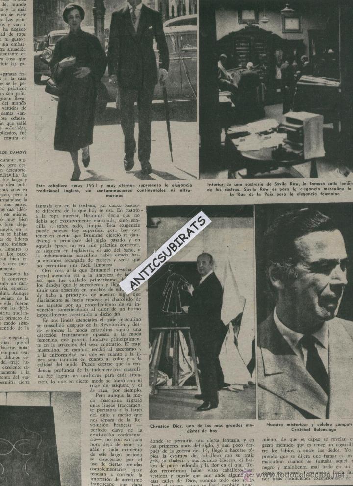 Coleccionismo de Revista Destino: 1951 IVES MONTAND POEMAS INEDITOS DE MIGUEL HERNANDEZ LUIS VALERI CRISTIAN DIOR BALENCIAGA - Foto 2 - 18020607