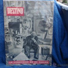 Coleccionismo de Revista Destino: LE COURBUSIER-PORTADA DE REVISTA DESTINO 1965. Lote 43355142