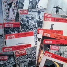 Coleccionismo de Revista Destino: REVISTA LOTE DE 30 REVISTAS DESTINO. Lote 50795288