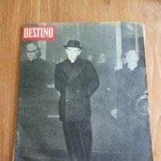 Coleccionismo de Revista Destino: F 3613 DESTINO - N 1513 6 AGOSTO 1966 PABLO VI EN CLERGYMAN LOS BEATNIKS LEMMY CONTRA ALPHA VILLE. Lote 43817676