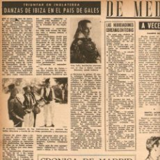 Coleccionismo de Revista Destino: AÑO 1952 DANZAS IBIZA EIVISSA FOLKLORE EUDALDO DURAN REYNALS NOMBRE DE LAS CALLES BARCELONA MONTCADA. Lote 44493944
