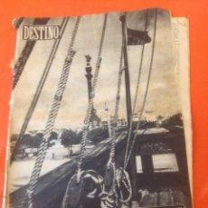 Coleccionismo de Revista Destino: . REVISTA DESTINO Nº948 8 OCTUBRE 1955. Lote 44687119