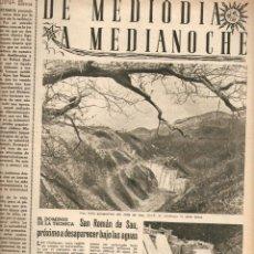 Coleccionismo de Revista Destino: AÑO 1955 JULIO VERNE SANT ROMA DE SAU PANTANO ANGEL RUIZ PABLO MENORCA ESCRITOR. Lote 44968401