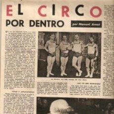 Coleccionismo de Revista Destino: AÑO 1962 EMILIO BRUGALLA ENCUADERNACION FELIX CUCURULL EL CIRCO MUSICA PARA ORQUESTA MOMPOU PROFIDEN. Lote 45036513