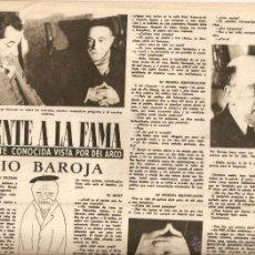 Coleccionismo de Revista Destino: AÑO 1951 PIO BAROJA TORRELLEBRETA VILARRUBIA ESCULTURA EDUARDO SERRA MUSICA OSCAR ESPLA ANDRE GIDE. Lote 45070762