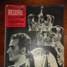 Coleccionismo de Revista Destino: REVISTA DESTINO NUM.1293, MAYO DE 1962 BODA REAL, PARTIDO CONSERVADOR, ANTE EL TELON DE BAMBU..... Lote 45503105